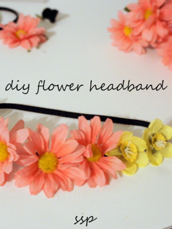 DIY Flower Crown | Slice of Southern Pie | The Perfect Easter Dress Accessory or Spring Craft #floral #craft #headband